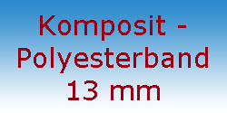 Komposit Polyesterband 13 mm