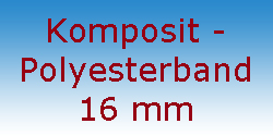 Komposit Polyesterband 16 mm