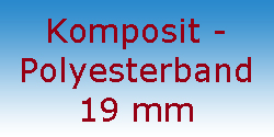 Komposit Polyesterband 19 mm