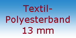 Textil Polyesterband 13 mm