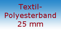 Textil Polyesterband 25 mm